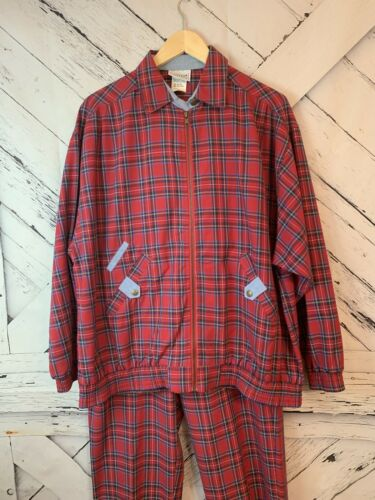 Womens Vintage Jantzen Classics Medium Plaid 2 Pie