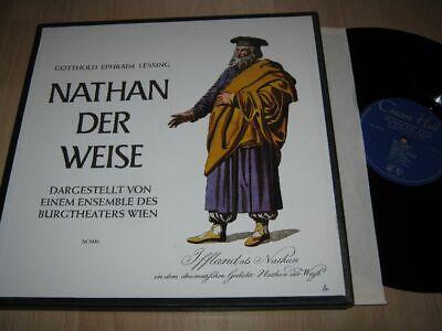 2 Vinyl Lp, Sprechplatte: Lessing, Nathan Der Weise, Burgtheater Wien Spezieller Kauf