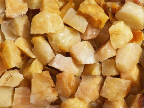1 lb YELLOW AVENTURINE  Bulk Tumbling Rough Rock Stones Healing Crystals