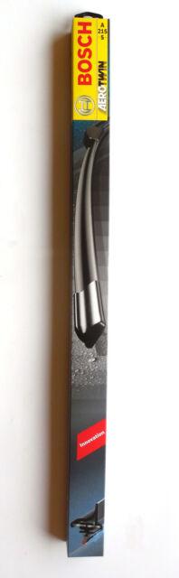 Bosch Escobilla Aerotwin par A215S 650/600 mm 3397007215 con Spoiler