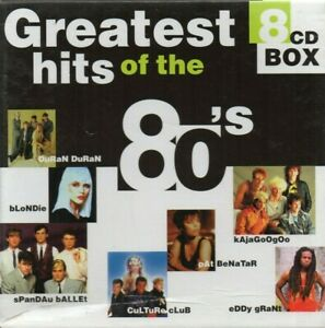 Greatest-Hits-Of-The-80-039-s-Various-Artists-CD-1998-8-CD-Box-Set