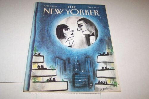 1021989 NEW YORKER magazine MOVIE ON MOON