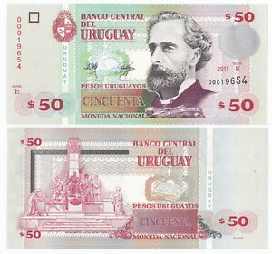 """URUGUAY 100 PESOS 2011 /""""F/"""" P 88 UNC"""