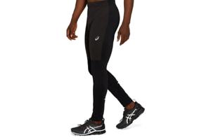 Details about Asics Windblock Tights Black Men's Running Compression Sport Pants 2011B196-002