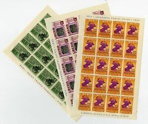 Liberia-330-1-C67-Stamp-Imperforate-Set-Sheets-of-20-Rare
