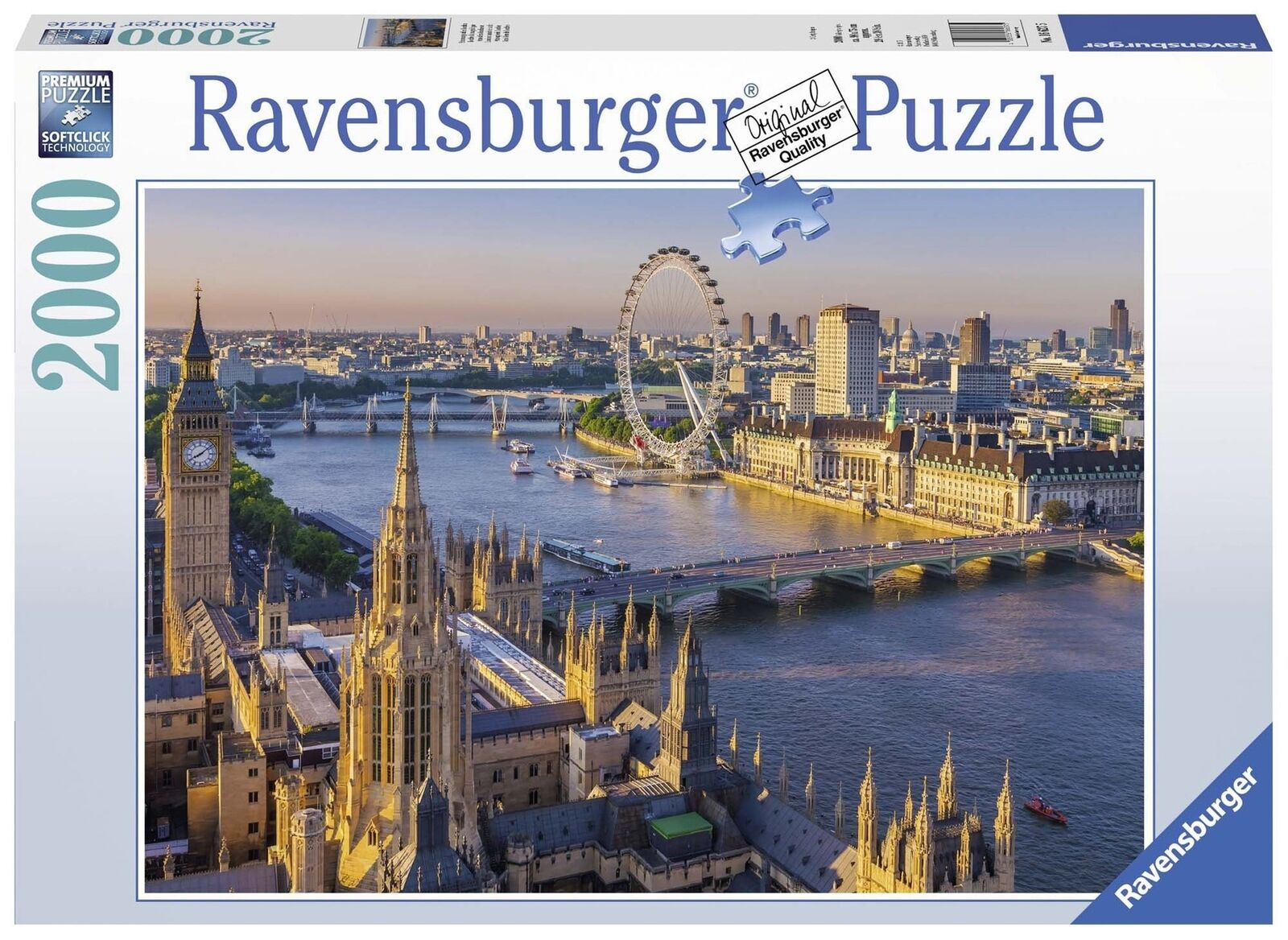 Ravensburger Atmospheric London, 2000pc Jigsaw puzzle  By Ravensburger