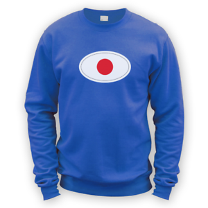 Japanese Flag Sweater -x8 Colours- Gift Present Football Cup Japan JDM