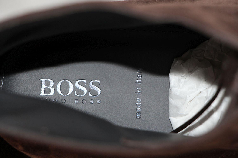 HUGO HUGO HUGO BOSS Stiefel, Gr. 44 / UK 10 / US 11,   , Made in  8bf95c