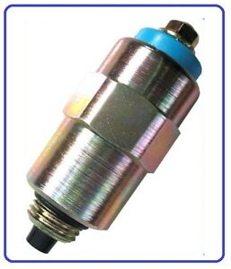 Electrovanne D/'arret Pompes injection Diesel Ford type Roto diesel ou Lucas