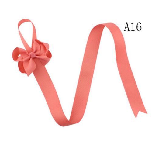 2pc Girls Hair Bow Grosgrain Ribbon Baby Hair Clip Holder Storage Organizer fq