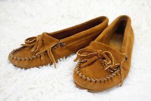 c817901c807 Image is loading MINNETONKA-MOCCASIN-Kilty-Hardsole-Moc-Shoes-Women-039-