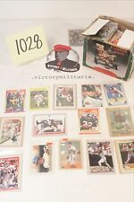 Large Collection of Baseball Cards from the 1970's - 1990's