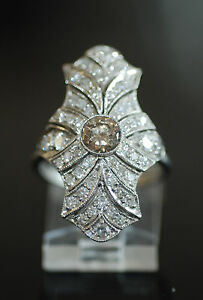 Fancy-1-60ct-Champagne-Diamond-Duchess-Filigree-Ring-PLT-SZ7