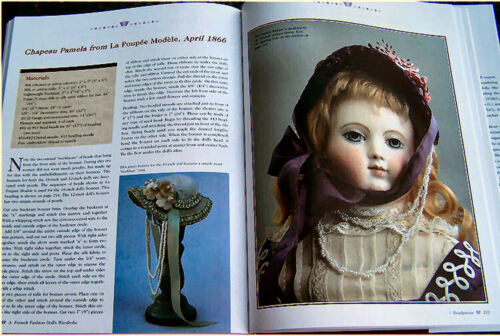 A French Fashion Doll/'s Wardrobe 1864-1874 Hedrick 56 Patterns