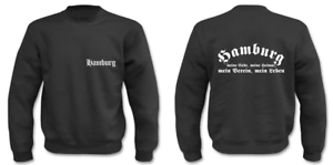 Hamburg I Fun Sayings Club Football Sweatshirt Funny Pull zfdqwSPw
