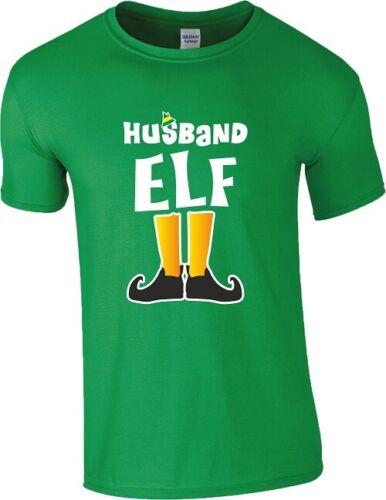 Elf Family T Shirt Daddy Mummy Little Grumpy Party Xmas Gift Men Ladies Kids GRN