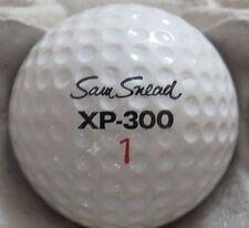 (1) SAM SNEAD SIGNATURE LOGO GOLF BALL ( WILSON XP-300 CIR 1968) #1