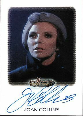 Women Of Star Trek Series Autograph Card Joan Collins