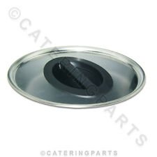 BURCO 082626775 300mm STAINLESS STEEL LID WITH STEAM VENT FOR HOT WATER BOILER