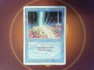 Braingeyser - Revised - English - Magic the Gathering Mtg #2