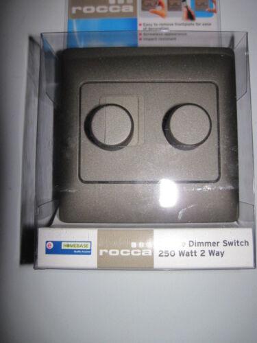 Double variateur d/'intensité 250 watt effet pierre 2 way