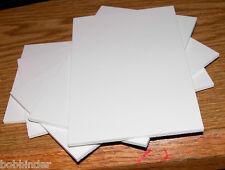 ".125"" X 3.5""x5.5"" White Sintra Sheet set of 5 PIECES"