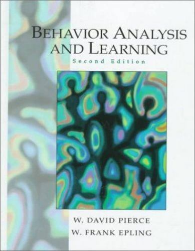 Behavior Analysis and Learning (2nd Edition)