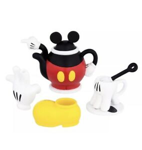 Disney-Parks-Mickey-Mouse-Body-Parts-Mini-Tea-Set-Pants-Gloves-Shoe-Gift-Box