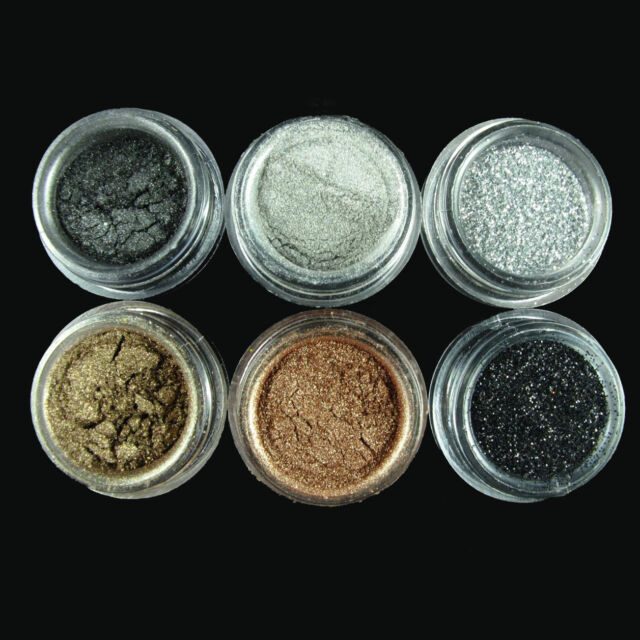 6 Colors/set Smoky Eye Version Eyeshadow Make Up pigment Glitter Set Make Pro AU
