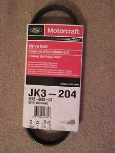 Serpentine Belt  Motorcraft  JK3-204