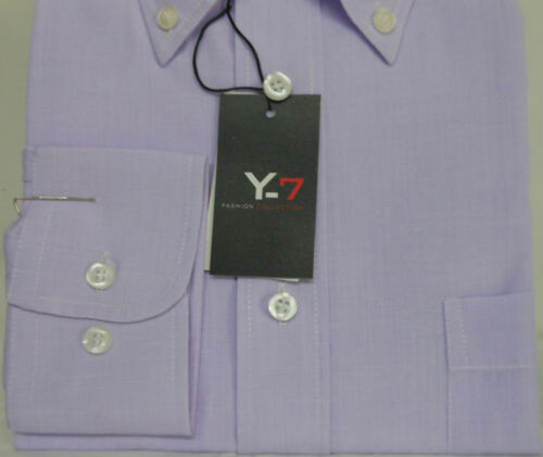Camicia classica uomo Y-7 manica lunga collo Button down  art 183