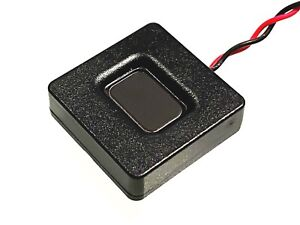 25x25x7mm 4 Ohm Square Megabass Speaker For DCC Sound Decoder Loksound 4, 5 Zimo