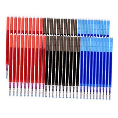 Heat Erasable Refills for Various Colors of Fabrics,Black and Quilting Dressmaking VIDELLY 60 Pieces 0.5mm Refills Heat Erasable Fabric Marking Refills,for Tailors Sewing