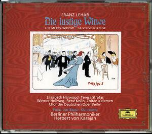 Lehar-Die-lustige-Witwe-von-Suppe-Ouverturen-CD-1992-2-Discs