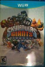 Skylanders Giants Video Game Only for WiiU (WiiU, 2012) Will work on WiiU