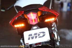 Details About 2015 2019 Yamaha Yzf R1 R1m R1s In Vent In Tail Led Rear Turn Signal Lights