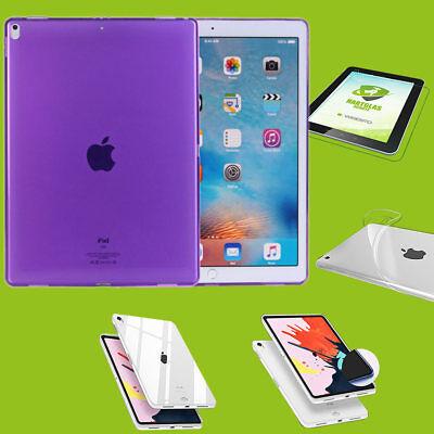 Per Apple Ipad Pro 11.0 Pollici 2018 Viola Guscio Custodia Cover + H9 Vetro Duro Case- Essere Romanzo Nel Design
