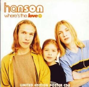 Hanson-Where-S-The-Love-Cds-UK-IMPORT-CD-NEW