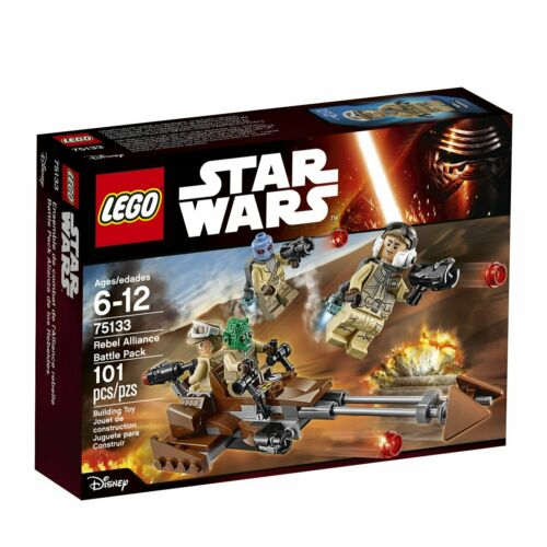 Retired LEGO Star Wars Set 75133 Rebel Alliance Battle Pack New In Box!