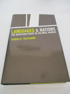 New-Languages-amp-Nations-Dravidian-Proof-In-Colonial-Madras-Hardcover-Book