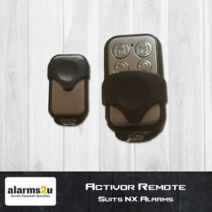 Activor-Alarm-Remote-GENUINE-Suits-NX-Alarm-Panels-RTI01-Hills