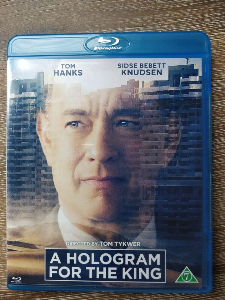 A Hologram for the King, instruktør Tom Tykwer, Blu-ray