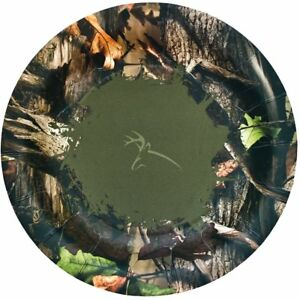 """Next Camo Outdoors Hunting Camouflage Theme Birthday Party 7"""" Dessert Plates"""
