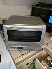 Panasonic Flashxpress Toaster Oven Nb G110p Silver For Sale Online Ebay