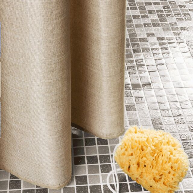 Move Shower Curtain Duschvorhang Beige 180 X 200 Cm
