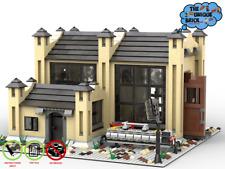 Eisenbahn Reparaturschuppen - PDF-Bauanleitung- für LEGO® Steine