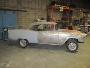 1955 Chevy Two Door Hard Top Sport Coup
