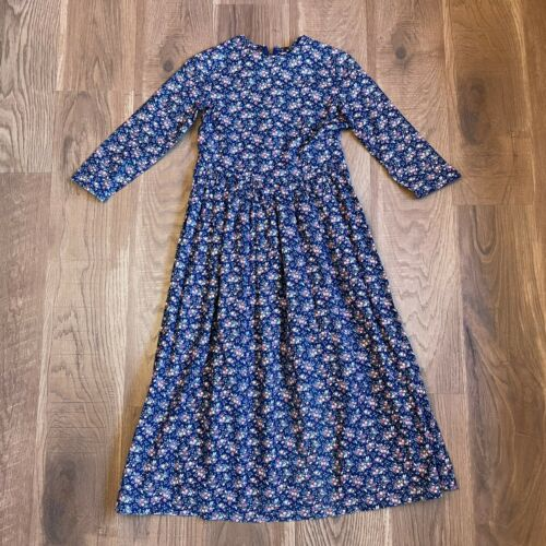 Vintage Handmade Cottagecore Prairie Dress XXS