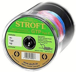 STROFT GTP E 300 m Multicolor Geflochtene Angelschnur von E06 bis E8