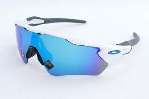 Oakley Radar EV Path OO9208-7338 Sunglasses - Polished White/Prizm Sapphire